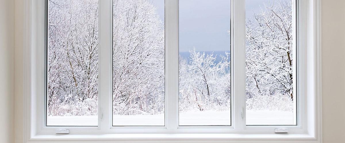 Окна и двери ПВХ зимой